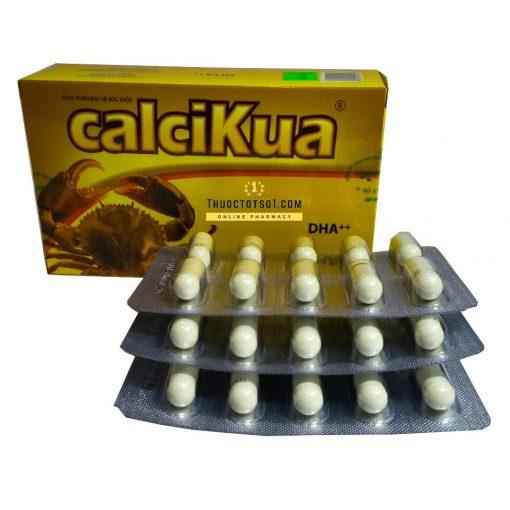 Calcikua bổ sung canxi, vitamin D3 và DHA viện Pasteur