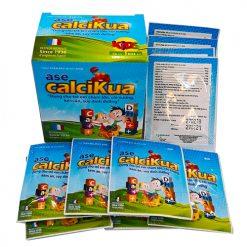 Canxi dạng cốm Ase Calcikua bé cao khỏe trẻ thông minh davac pharma