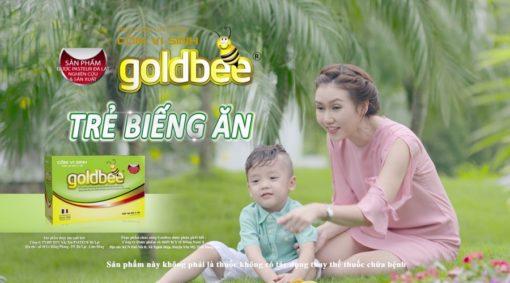 cốm vi sinh Goldbee không còn khó tiêu bé yêu mau lớn chính hãng