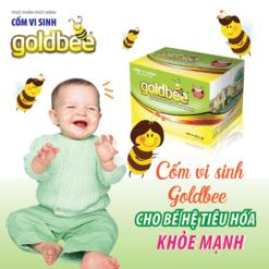 cốm vi sinh Goldbee không còn khó tiêu bé yêu mau lớn giúp hệ tiêu hóa khỏe mạnh