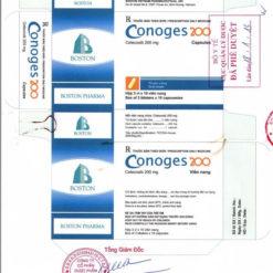 Conoges celecoxib thuốc chống viêm Nsaids Bộ Y tế phê duyệt