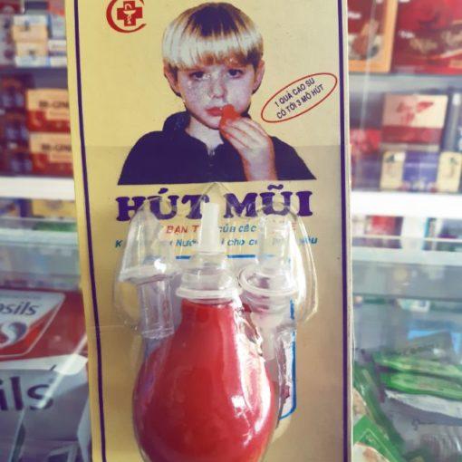 dụng cụ hút mũi quả bóp an toàn tiện lợi cho bé chính hãng