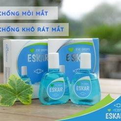 thuốc nhỏ mắt Eskar chẳng ngại bụi đường xa chống mỏi mắt khô mắt