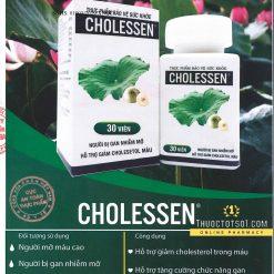 cholessen không còn quen mỡ máu thảo dược