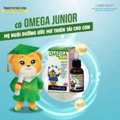 Fitobimbi Omega Junior giúp trẻ phát triển trí tuệ thông minh sáng mắt nhập khẩu châu Âu