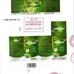 thuốc đông dược bài thạch chữa hết sạch sỏi thận danapha 1