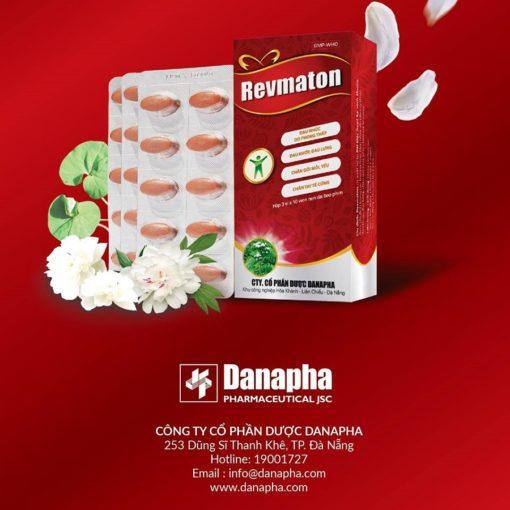 thuốc đông dược cổ truyền revmaton không còn đau khớp thương hiệuDanapha