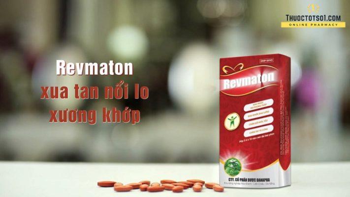 thuốc đông dược cổ truyền revmaton không còn đau khớp xua tan nỗi lo