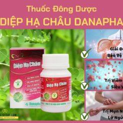 thuốc đông dược diệp hạ châu còn đâu mụn ngứa Danapha sản xuất