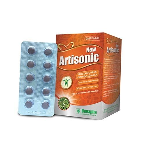 thuốc đông dược New Artisonic có ích cho gan thuoctotso1