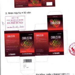 thuốc hạ mỡ máu cholestin thuốc đông dược ngăn ngừa cholesterol Bộ Y tế kiểm duyệt