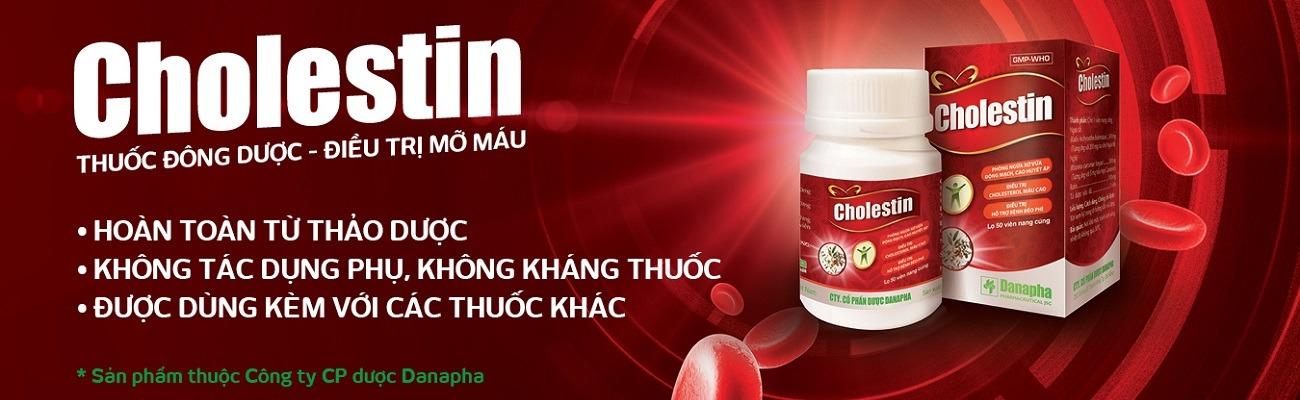 thuốc hạ mỡ máu cholestin thuốc đông dược ngăn ngừa cholesterol thành phần thảo dược