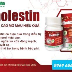 thuốc hạ mỡ máu Cholestin thuốc đông dược ngăn ngừa cholesterol thuoctotso1