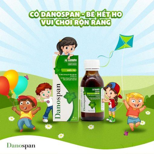 thuốc ho thảo dược Danospan người bạn của đường hô hấp dùng cho mọi lứa tuổi