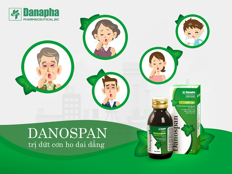 thuốc ho thảo dược Danospan người bạn của đường hô hấp trị dứt con ho dai dẳng