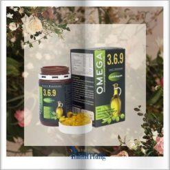 Omega 369 dầu hạt lanh cung cấp acid béo từ thực vật chính hãng