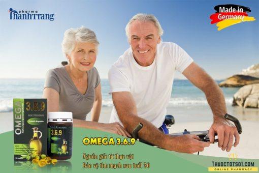 Omega 369 dầu hạt lanh cung cấp acid béo từ thực vật rất tốt cho người cao tuổi