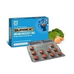Surbex Brain Boost hỗ trợ tăng cường tuần hoàn máu não thuoctotso1