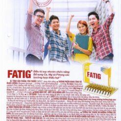 thuốc bổ Fatig có ích khi dưỡng bệnh bổ sung calci magnesi phospho chính hãng
