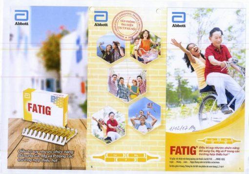thuốc bổ Fatig có ích khi dưỡng bệnh bổ sung calci magnesi phospho sản xuất tại Pháp