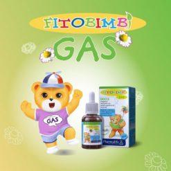 Fitobimbi Gas giúp trẻ hết nôn trớ ọc sữa đầy bụng khó tiêu hàng chính hãng