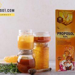 Xịt mũi keo ong Proposol baby tái tạo niêm mạc mũi chính hãng