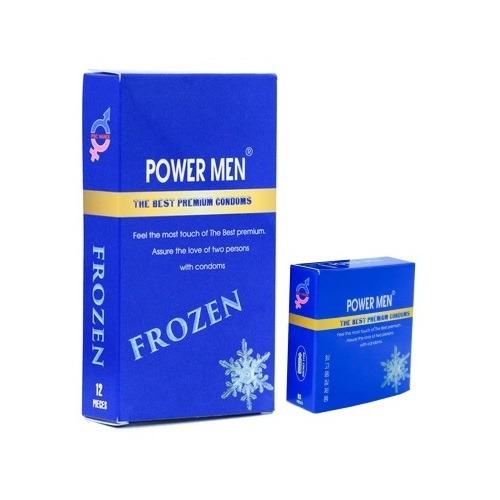 bao cao su Power Men Frozen bạc hà mát lạnh thuoctotso1