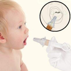 dụng cụ uống thuốc trẻ em Kuka nhập khẩu Nhật Bản sử dụng dễ dàng