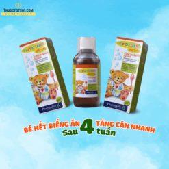 Fitobimbi Appetito siro trị biếng ăn cho trẻ 3 tác động toàn diện tăng cân sau 4 tuần