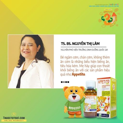 Fitobimbi Appetito siro trị biếng ăn cho trẻ 3 tác động toàn diện ý kiến chuyên gia