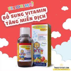 Fitobimbi Vitemix cung cấp vitamin và khoáng chất thiên nhiên tăng miễn dịch