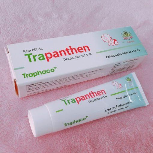 kem bôi da chống hăm trapanthen dexpanthenol Traphaco