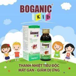 siro thảo dược Boganic Kid mát gan tiêu độc giảm dị ứng cho trẻ chất lượng cao