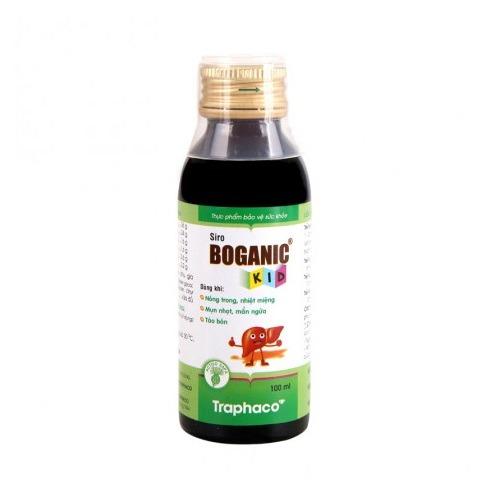 siro thảo dược Boganic Kid mát gan tiêu độc giảm dị ứng cho trẻ chính hãng