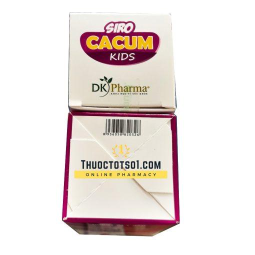 siro cảm cúm trẻ em Cacum Kids chính hãng