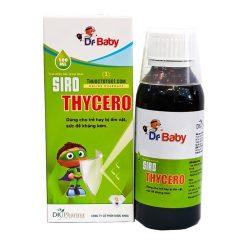 siro Thycero hỗ trợ trẻ ốm vặt sức đề kháng kém DK pahrrma