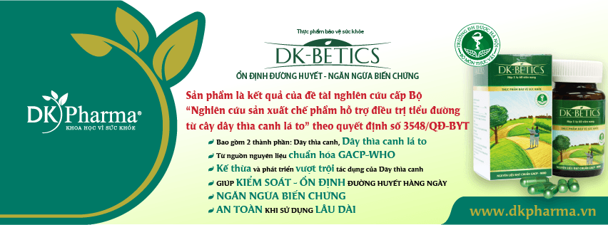 viên thìa canh DK Betics thảo dược hạ đường huyết trong ngưỡng an toàn đề tài nghiên cứu cấp Bộ