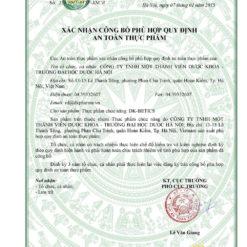 viên thìa canh DK Betics thảo dược hạ đường huyết trong ngưỡng an toàn giấy phép lưu hành