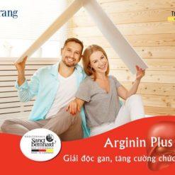 Arginin Plus 500mg hỗ trợ chức năng gan nhập khẩu Đức chất lượng cao