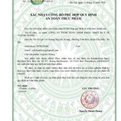 Arginin Plus 500mg hỗ trợ chức năng gan nhập khẩu Đức giấy phép lưu hành