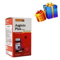 Arginin Plus 500mg hỗ trợ chức năng gan nhập khẩu Đức thuoctotso1