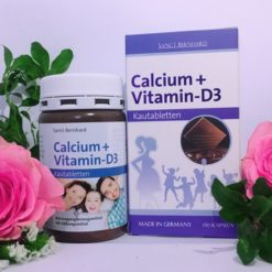 calcium vitamin d3 viên nhai socola canxi nhập khẩu Đức chất lượng cao
