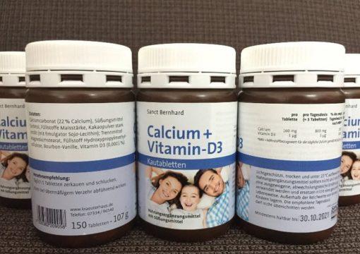 calcium vitamin d3 viên nhai socola canxi nhập khẩu Đức giao hàng tận nơi