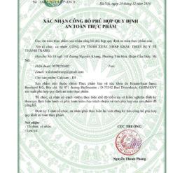calcium vitamin d3 viên nhai socola canxi nhập khẩu Đức giấy phép lưu hành