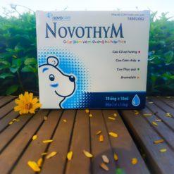 Novothym siro thảo dược châu âu chống viêm đường hô hấp hương vị thơm ngon