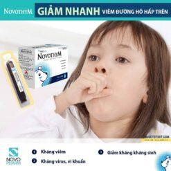 Novothym siro thảo dược châu âu chống viêm đường hô hấp nguyên liệu nhập khẩu chuẩn hóa