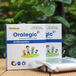thuốc dị ứng trẻ em Oralegic vị sữa dừa thơm ống 10ml cho người lớn
