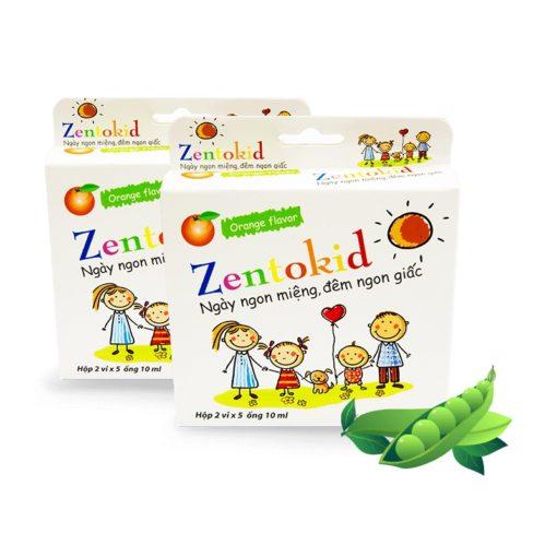 Zentokid giúp trẻ ăn ngon miệng ngủ ngon giấc siro