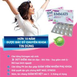 emmats giúp tăng cường nội tiết tố nữ estrogen bác sỹ khuyên dùng