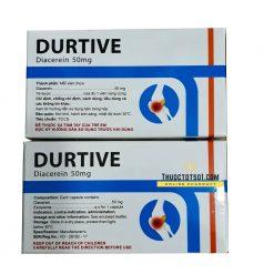 Durtive diacerein thuốc điều trị thoái hóa khớp chất lượng cao